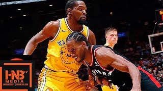 Golden State Warriors vs Toronto Raptors Full Game Highlights | 11.29.2018, NBA Season