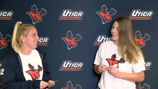 Utica College Softball - Moose Minute
