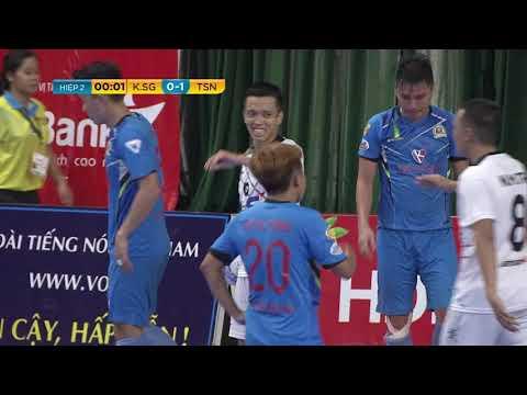 Giải futsal VĐQG 2019: Kardiachain SGFC vs Thái Sơn Nam (0-1)