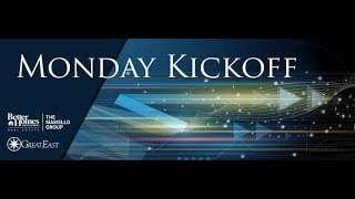 Kickoff Message for the Week of Jan 29, 2018