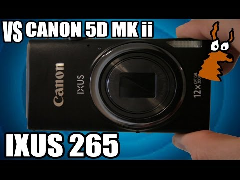 Canon IXUS 265 HS Review and Test
