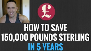 How to Save 150,000 Pounds Sterling in 5 Years ESL English Teaching Goal