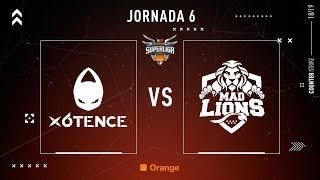 x6tence VS MAD Lions E.C.   Jornada 6   Temporada 2018/2019