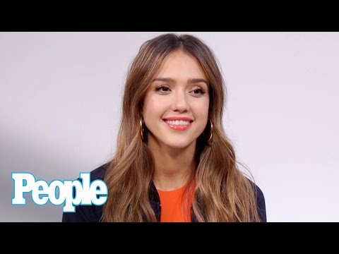 Jessica Alba Talks 'The Honest Company', Her Daughters & More | Celeb Style | People