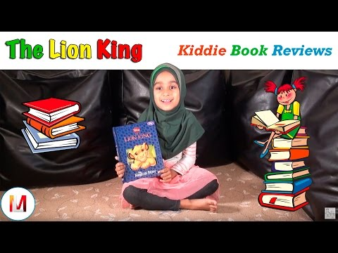 The Lion King Book Review – A Kids Review for Children