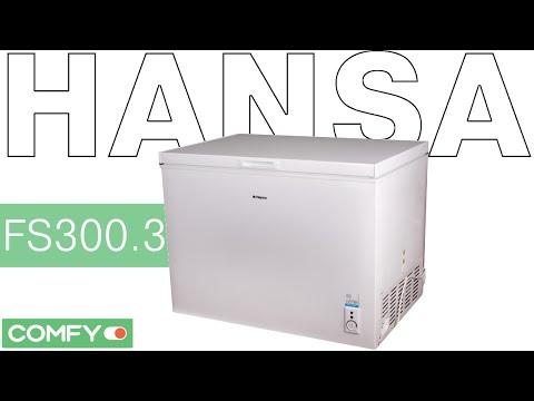 Фото Hansa FS300.3 - вместительный морозильный ларь - Видеодемонстрация от Comfy.ua
