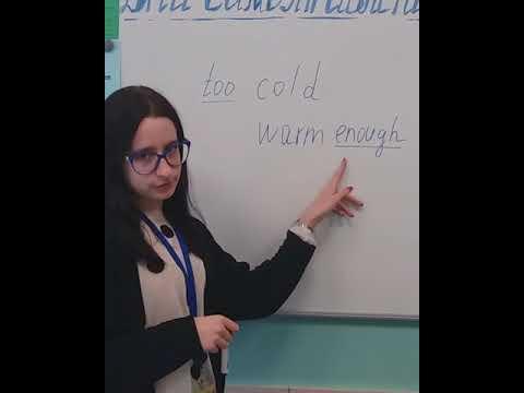 English rules  Сегодня изучаем постановку too и enough в словосочетаниях.