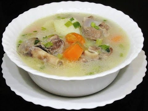 Quick And Easy Meat Soup {Sopu Ya Nyama }