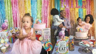 Milas First Birthday Party Special | Candy Land Theme!