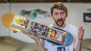 The VHS Skateboard?!? | You Make it We Skate It Ep. 230