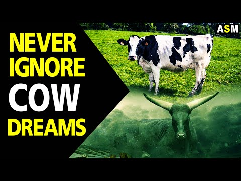 What does Cow dreams meaning | Dream interpretation | Dreaming of Cow