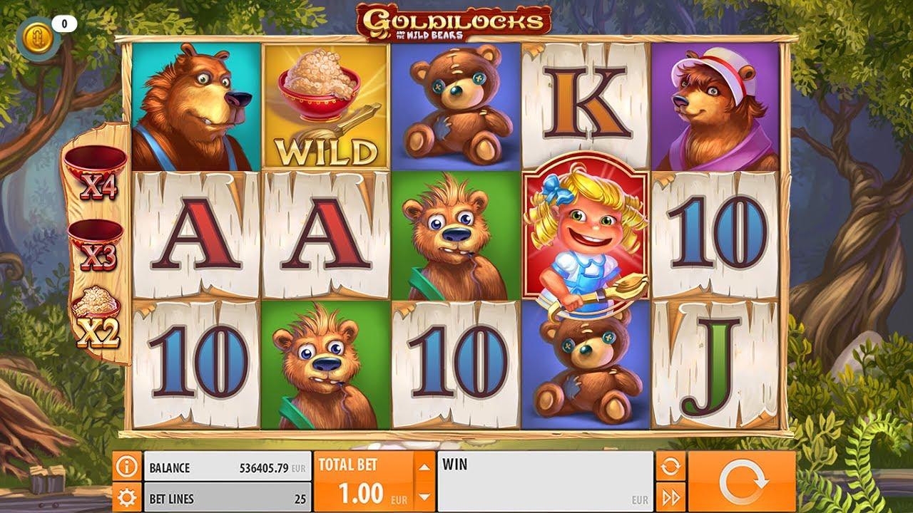 Goldilocks And The Wild Bears från Quickspin