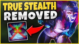 HUGE AKALI CHANGES COMING IN PATCH 9.3! TRUE STEALTH CHANGES, NEW HEALING!?! - League of Legends