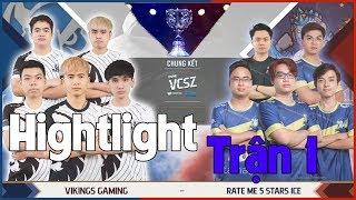 Tik Mắt Hí Xuất Hiện Tổng Hợp Highlights Chung Kết Divine VCSZ RM5S Ice vs VKS Game 1