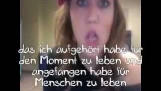 Miley Cyrus-  Goodbye (good-bye) twitter song Rap deutsche Übersetzung mit originallem Video.mp4