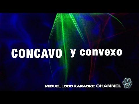 Concavo y convexo Alejandro Fernandez