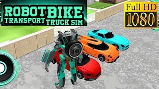 Robot Bike Transport Truck Sim Game Review 1080P Official The Game Storm Studios Simulation