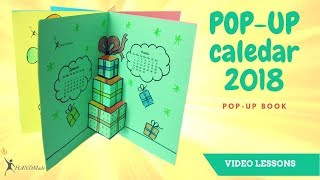 Follow along to learn how to make this cute 2018 Mini Calendar Easy, step by step. All you need are materials you already have at home. Fun DIY craft to celebrate the New Year!  Thanks for watching!! Please LIKE, COMMENT, and SHARE.
