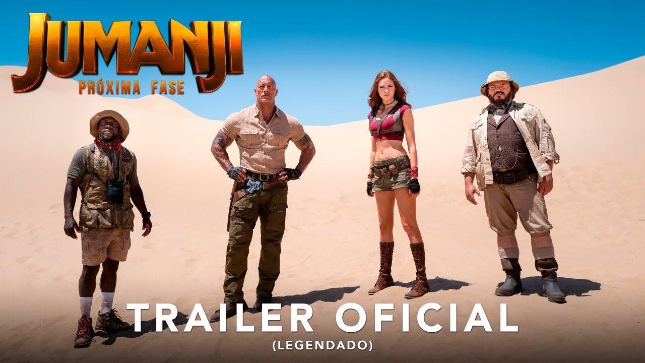 Jumanji 2 ganha primeiro trailer confirmando o título oficial!