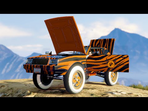 WORLD'S MOST PIMPED OUT CAR! (GTA 5 DLC)