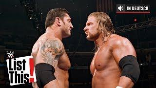 Superstars, die Triple H nie in einem Einzelmatch besiegt hat - WWE List This! (DEUTSCH)