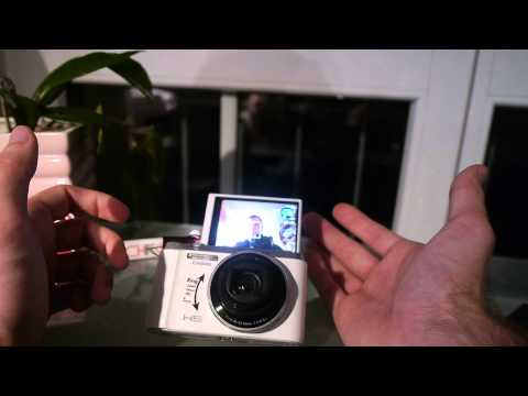 Casio Exilim EX-ZR1000 Unboxing