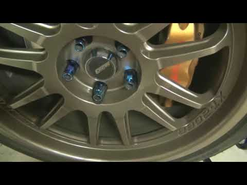 How To Change Wheels [For Noobs] 07 STI SUBARU