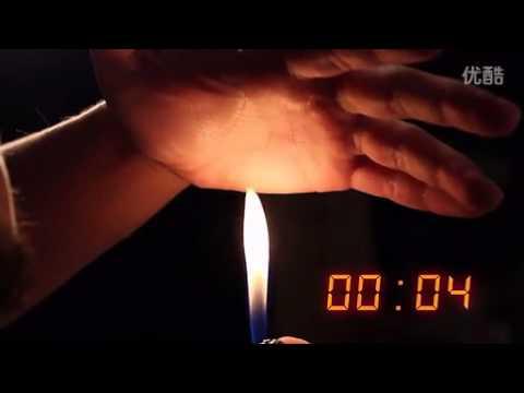 BLAZE by Thinking Paradox | Подносит руку над обычной зажигалкой и держит более 20 сек.