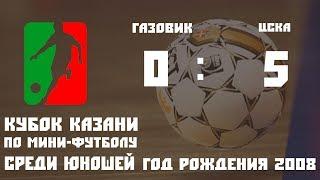 2008 ФК «Газовик» г Петровск   МФК «ЦСКА» г Москва КАИ Олимп 0 5