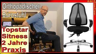 Topstar Sitness ✔ Orthopädischer Bürostuhl [ 2 Jahre Praxis ] Gaming Stuhl - 24/7 Homeoffice TopTipp