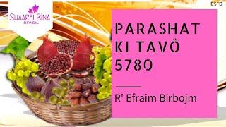 Parashat Ki Tavô 5780