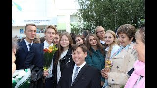 """Золотой микрофон ФМЛ 9""""Б""""  2018год"""