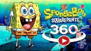 360 video|Spongebob cartoon | Spongebob | Patrick | Sandy | Squidward | mr Krabs
