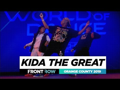 Download Kida The Great   FRONTROW   World Of Dance Orange County 2019   #WODOC19 HD Mp4 3GP Video and MP3