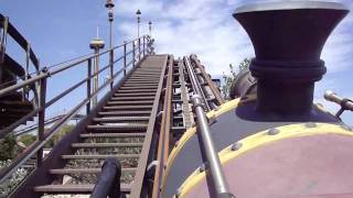 preview picture of video 'El diablo / Tren de la mina / Port Aventura'