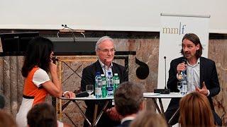Richard David Precht - Diskussion mit Ernst Fehr und Susanne Giger