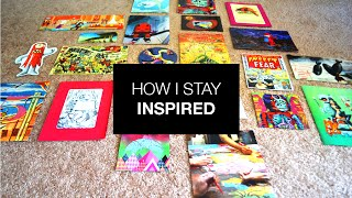 How I Stay Inspired + Inspiration Wall Timelapse