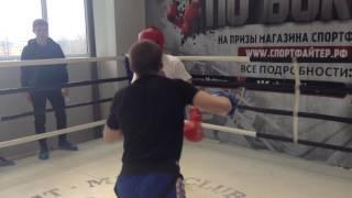 Барсуков Дмитрий 2 раунд (нокаут)