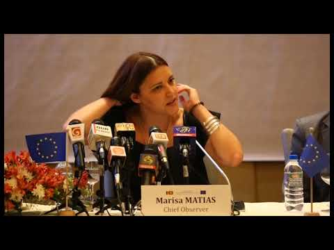 EU EOM Sri Lanka preliminary statement clip 5