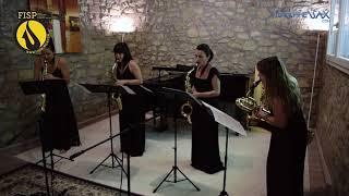 FISP21 – CONCERT:  Elise Hall Saxophone Quartet [ESTRENO 17:30h]