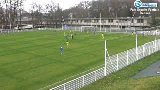 Résumé Pôle Espoirs Féminin - FC Nantes (2-8)