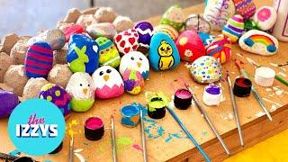 DIY Easter Egg Rocks!