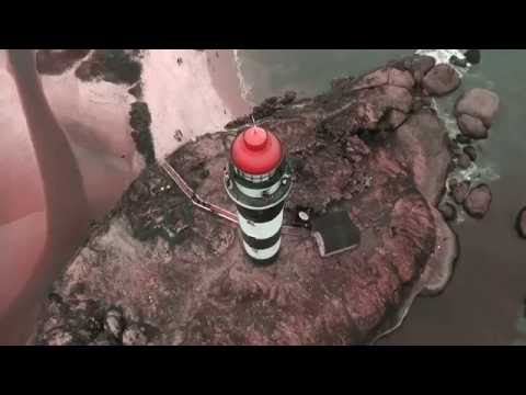 Aerial Slo-Mo of Lighthouse
