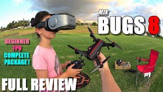 MJX BUGS 8 - Full Review - Best & most affordable? Entry Level 250 FPV RTF Race Drone