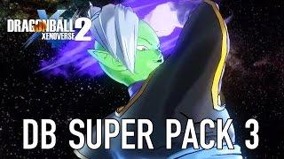 Dragon Ball Xenoverse 2 - PS4/XB1/PC - DB Super Pack 3 (DLC Gameplay Video)