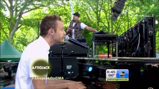 AFROJACK LIVE at GOOD MORNING AMERICA (guest appearances: Sting, Matthew Koma & Stephen Wrabel)