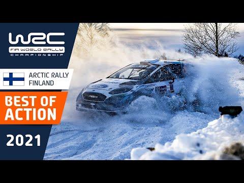 WRC 2021 第2戦のラリーフィンランド ベストアクション動画
