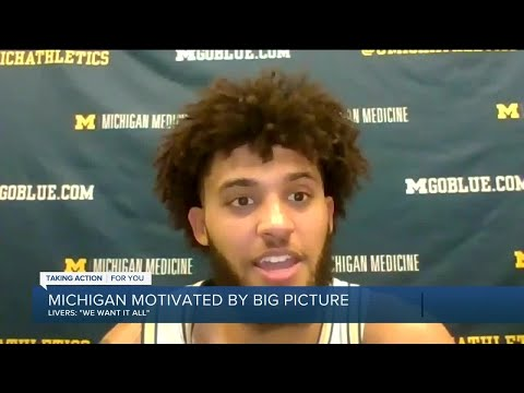 Michigan not afraid to use big picture as motivation