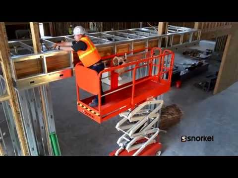 Snorkel Electric Slab Scissor Lifts