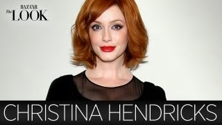 Mad Mens Christina Hendricks Talks Vintage Clothing | Harpers Bazaar The Look
